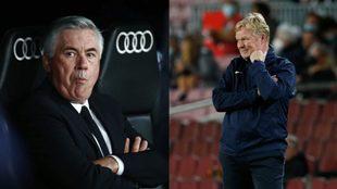 Ancelotti y Koeman, las dos caras de la moneda en LaLiga