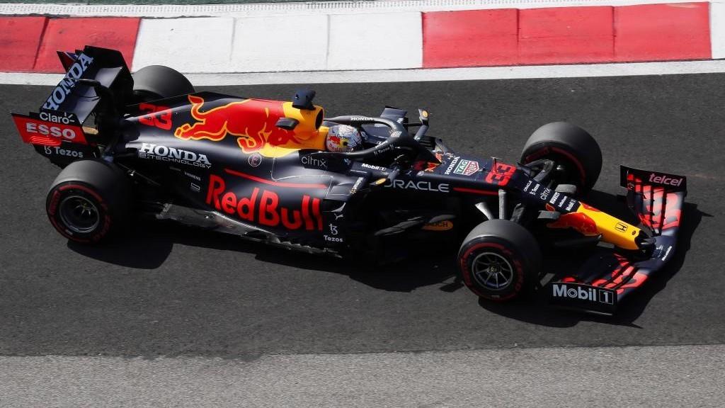 Verstappen, durante los Libres del GP de Rusia.