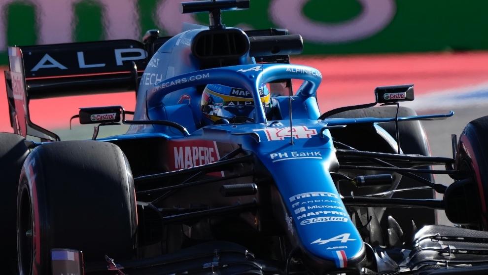 Alonso en Rusia 2021