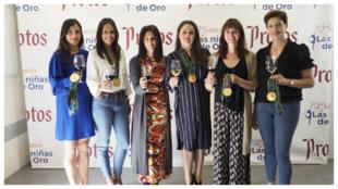 'Las Niñas de Oro' 25 años después en el evento de...