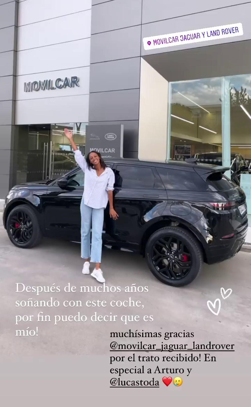 Ana Peleteiro - Range Rover Evoque - SUV - 65.000 euros