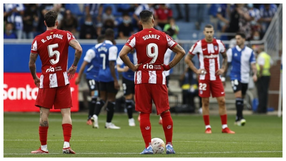 El Atlético amenaza ruina