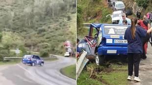 Así fue el fatal accidente del Rally de Llanes