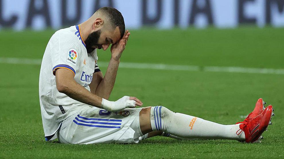 El Madrid sufre un apagón