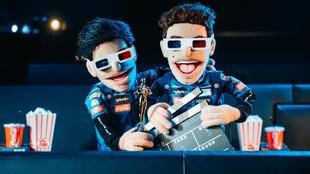 Las marionetas que hizo McLaren con sus dos pilotos en 2020