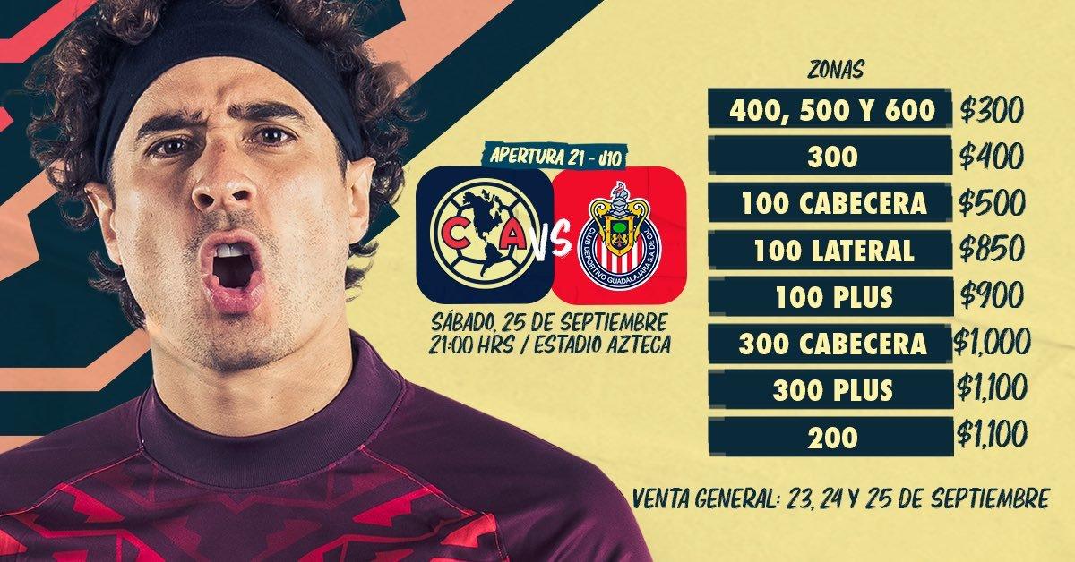 América vs Chivas: ¿Aún se pueden conseguir boletos para el Clásico Nacional?