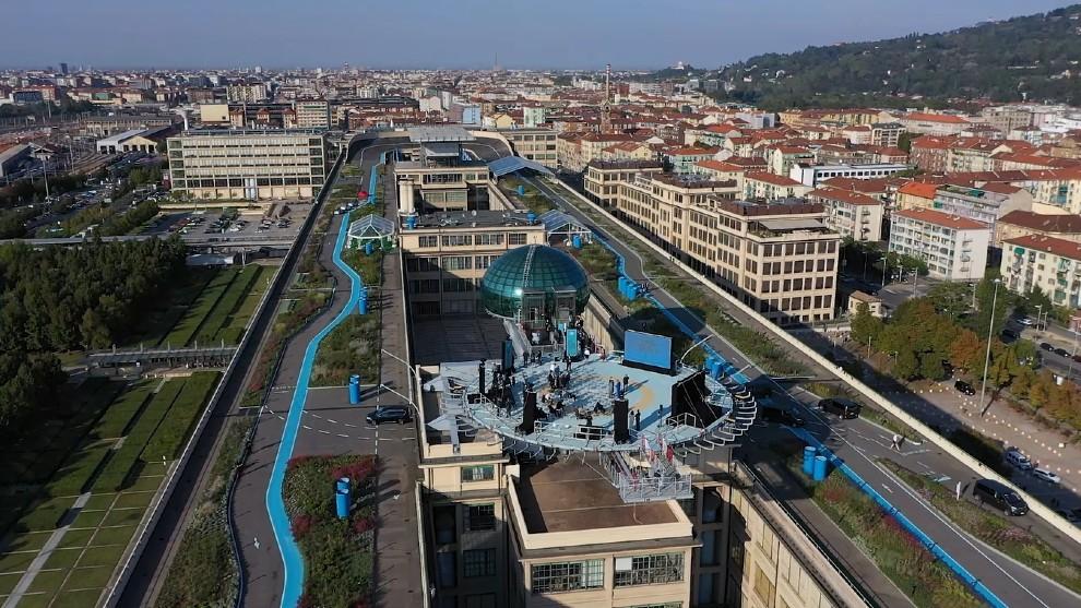Lingotto - Fiat - fabrica - jardin - Casa 500 - Pista 500 - Turin
