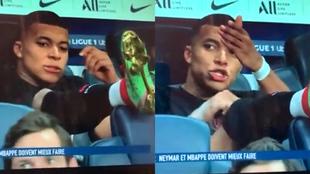 Problemas en el paraíso: la 'cazada' a Mbappé rajando de Neymar