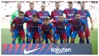 Once del Barça ante el Levantex.