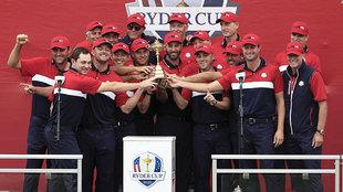 El 'Dream Team' aplasta a Europa en la Ryder Cup