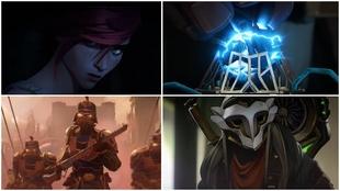 Fotogramas de Arcane, la serie de League of Legends en Netflix