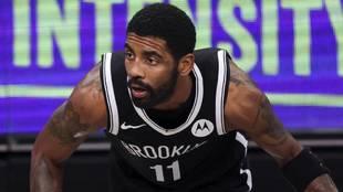 Kyrie Irving, base de los Brooklyn Nets