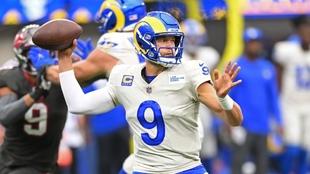 Matthew Stafford eclipsa a Tom Brady con cuatro touchdowns y Rams le repite la dosis a Buccaneers