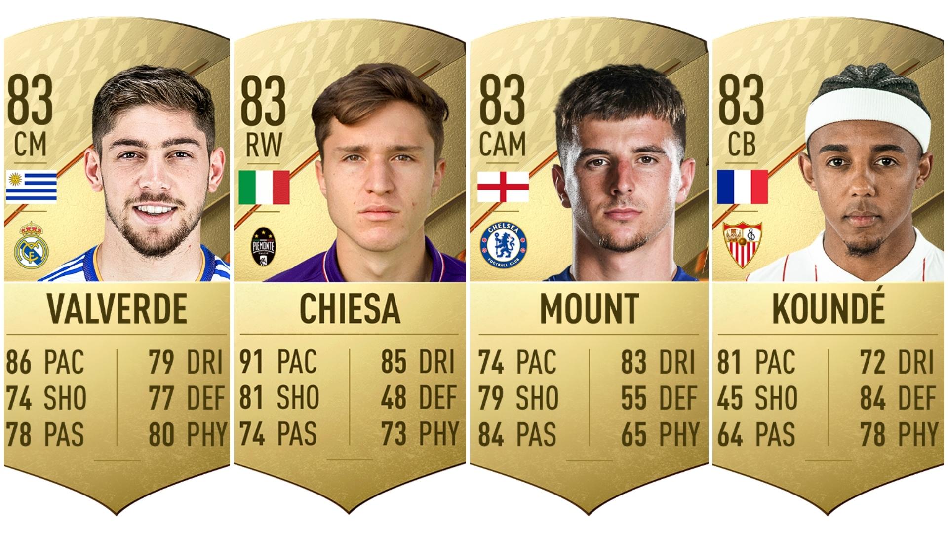 Jugadores con más potencial de FIFA 22