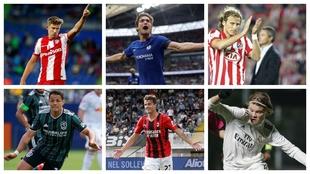 Las grandes sagas familiares de futbolistas