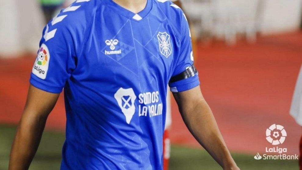 Camiseta del CD Tenerife.