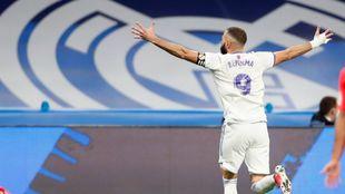 Karim Benzema with Real Madrid