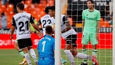 Marcos André, tras el marcar gol del empate al Athletic.