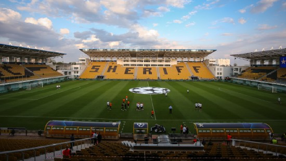 Real Madrid vs Sheriff: Sheriff Tiraspol: The club without a recognised  state | Marca