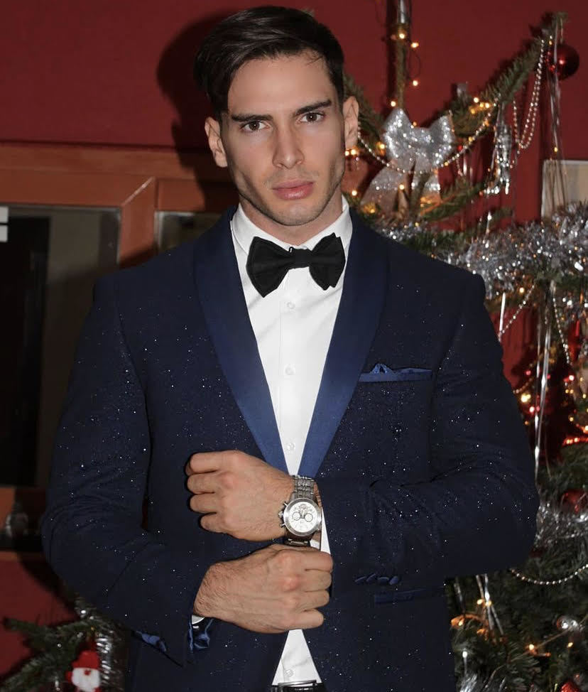 Alexander Calvo, ganador de Míster International Spain 2021