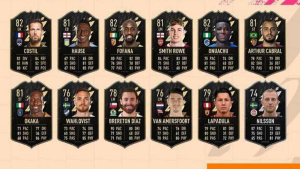 Mejores jugadores reservas del TOTW 2 de FIFA 22