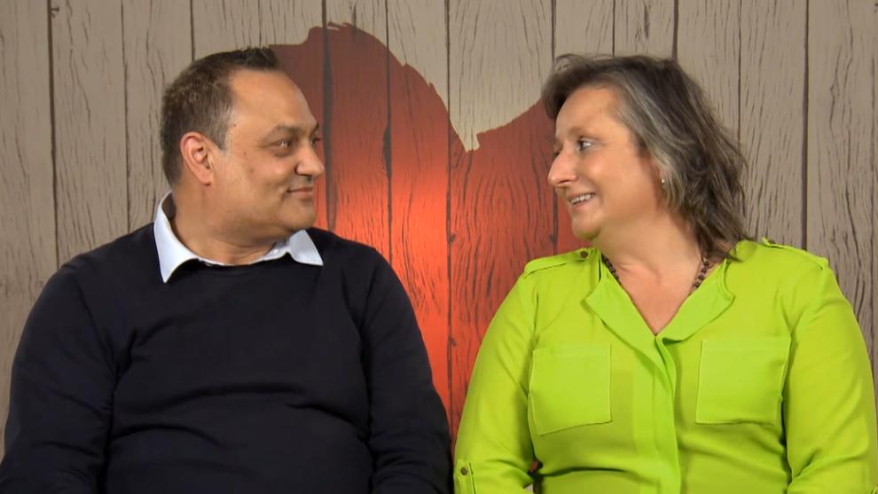 José y Mónica en sus primeras citas