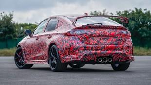 Honda - Civic Type R 2022 - prototipo - camuflado - Nurburgring