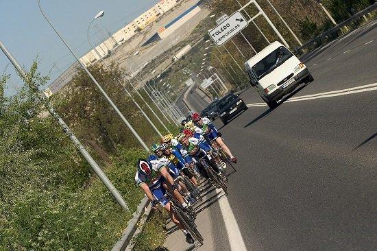 Ciclistas - Norma para adelantar - DGT - Adelantamiento