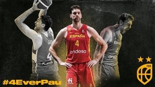 Pau Gasol, leyenda del baloncesto español.