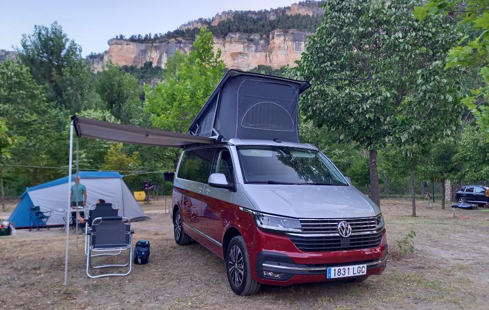 Volkswagen California - Cama superior - Ventanas