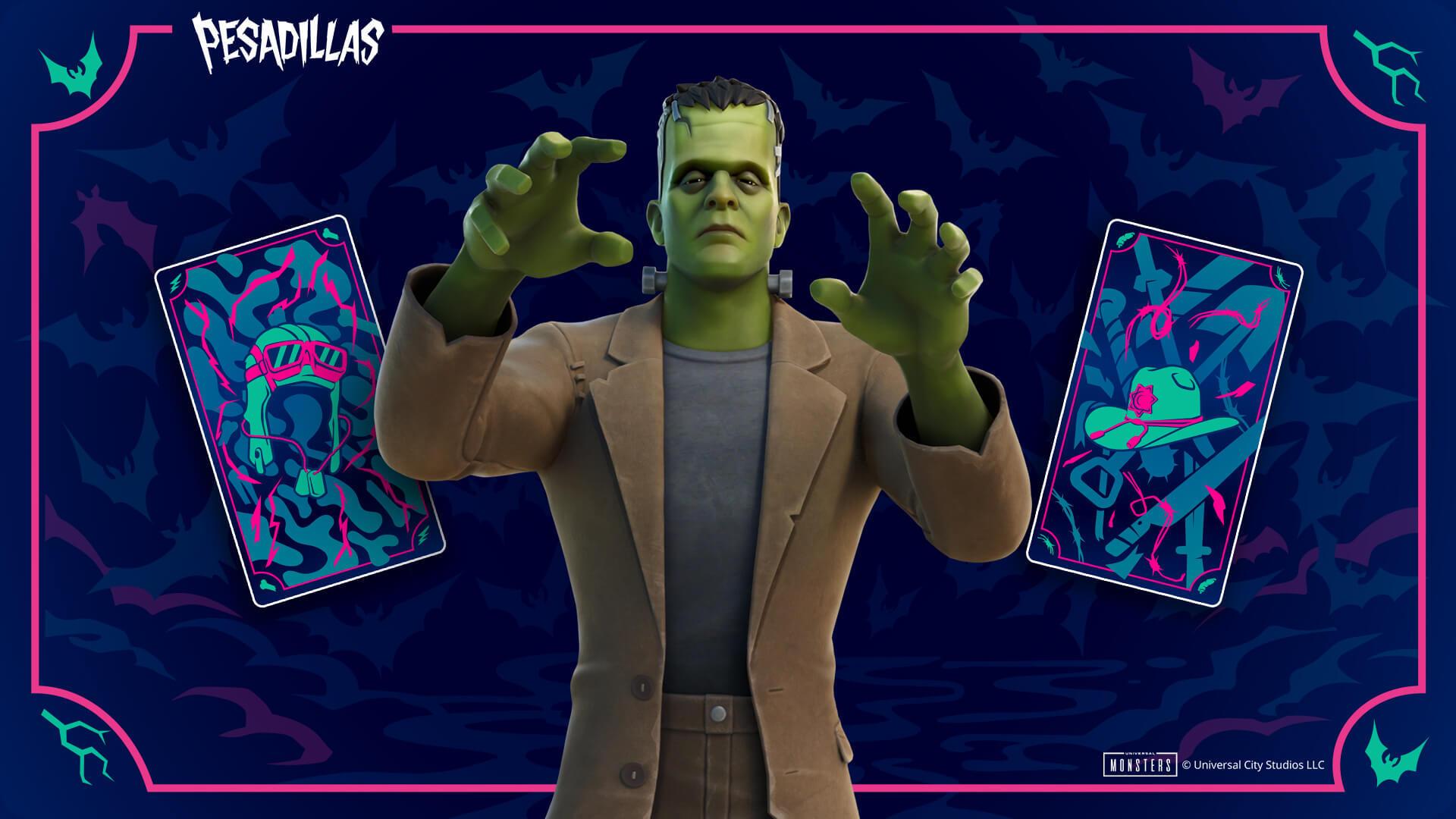Nueva skin de Frankenstein en Fortnite
