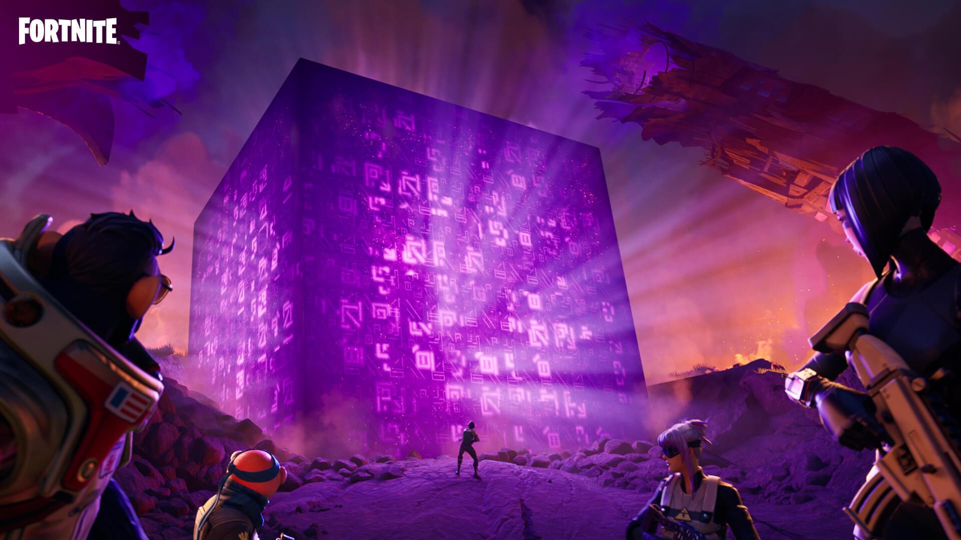 """El Cubo de Fortnite se pone """"tontito""""durante estos días."""