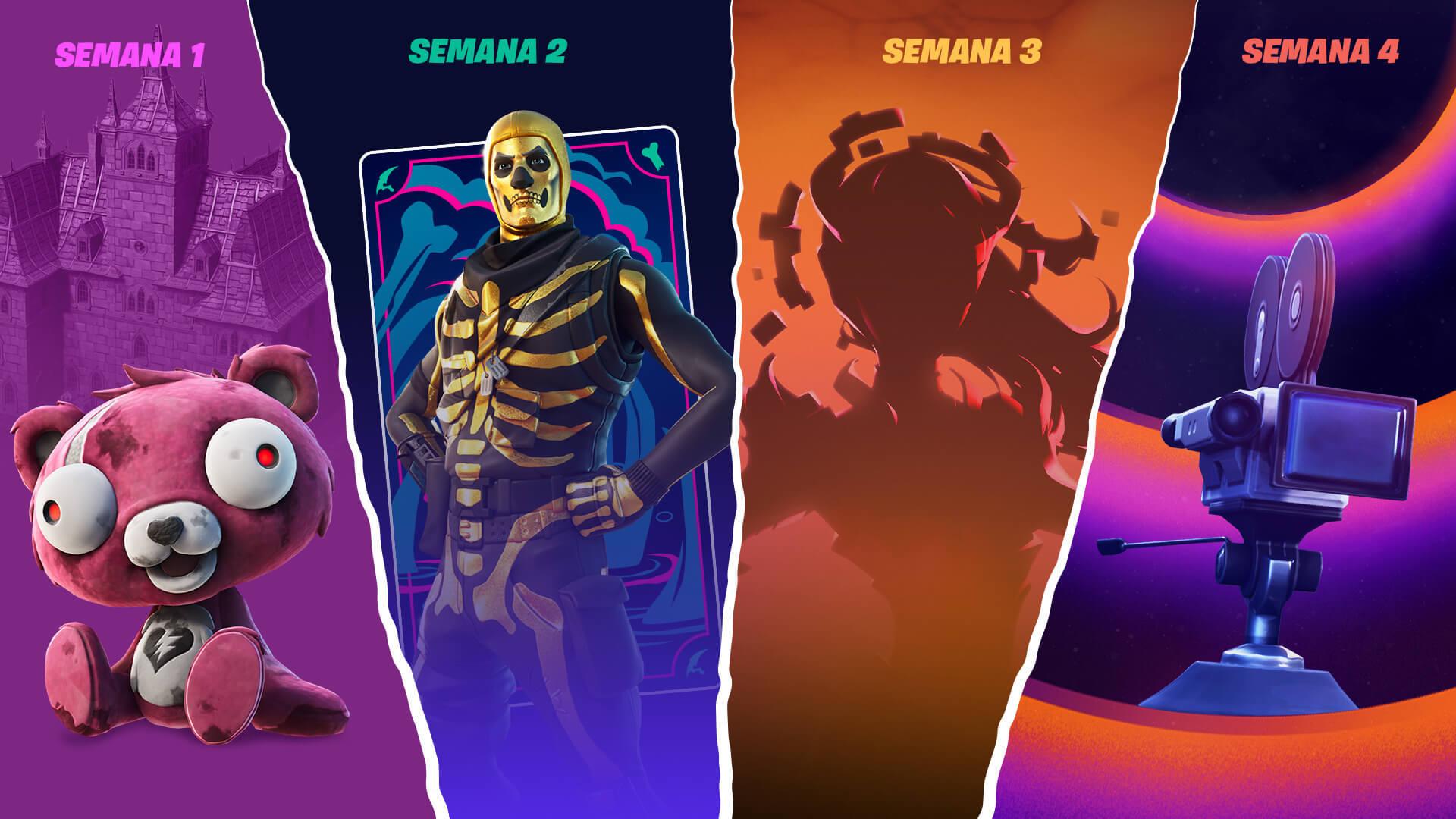 """Fortnite presenta """"Cortos de Pesadilla"""" durante este Halloween 2021"""