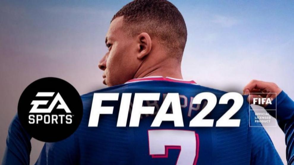 La portada de FIFA 22