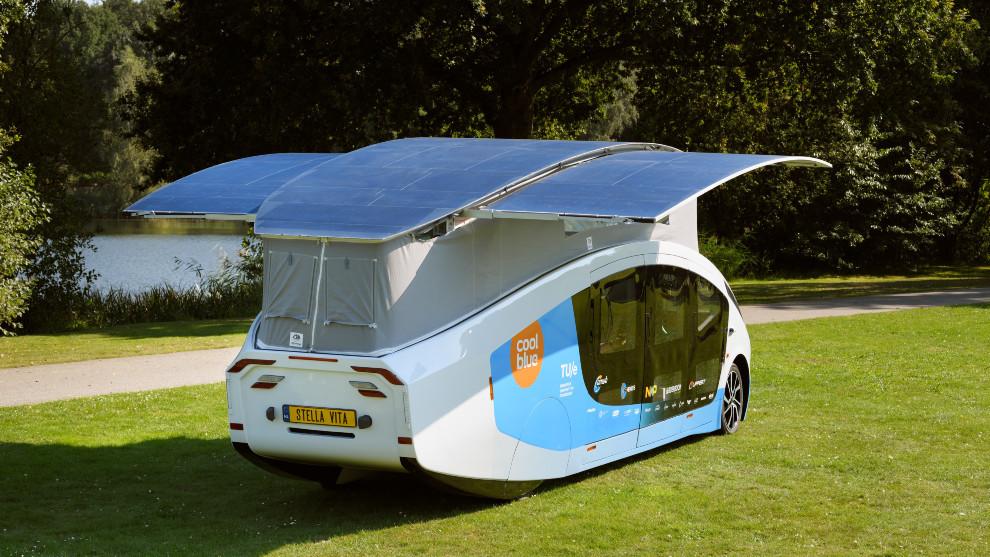 Stella Vita - Autocaravana electrica - Energia solar - Placas solares