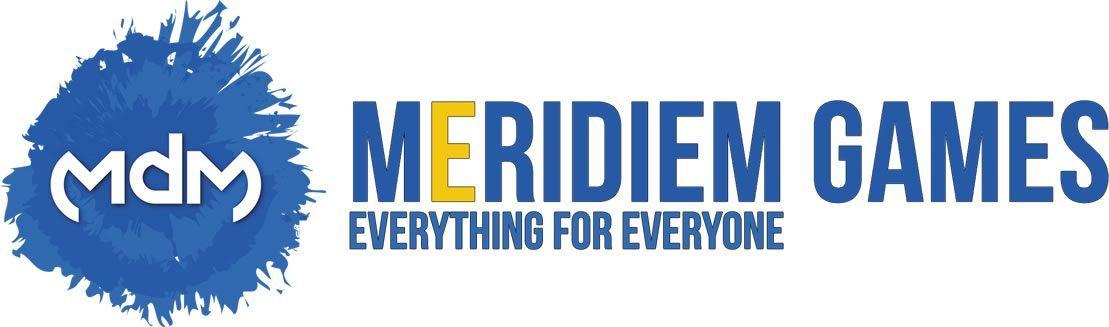 Logo de Meridiem Games.