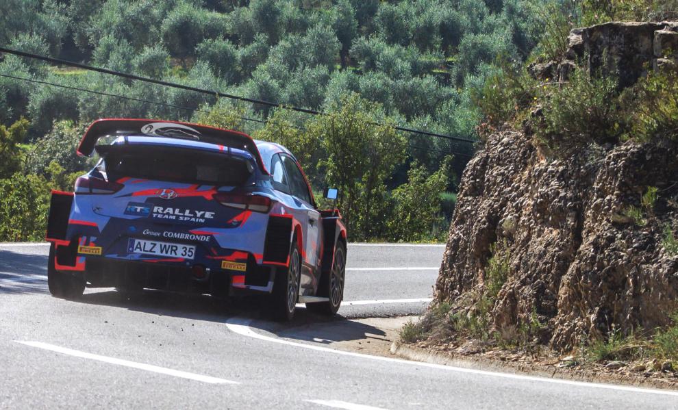 Primera vez desde el debut de Sordo que un español sube a un WRC.