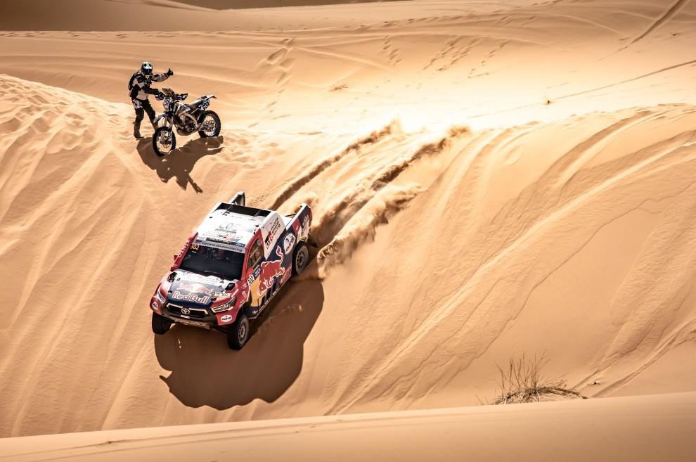 Nasser Al-Attiyah - Rally de Marruecos - etapa 3 - Toyota - victoria