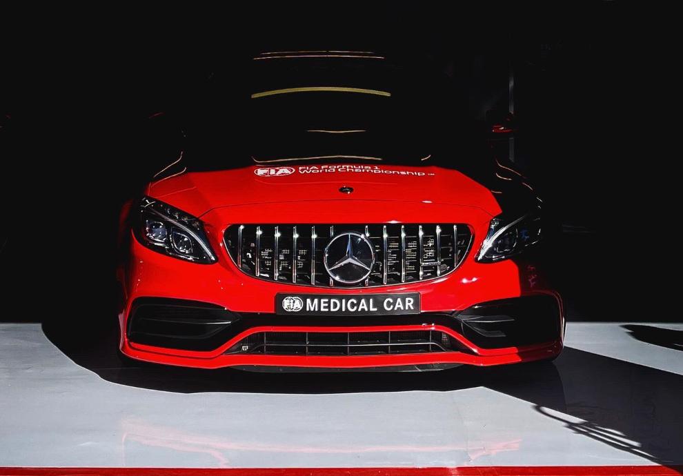 Coche médico de F1