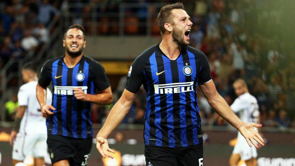 Stefan de Vrij of Inter