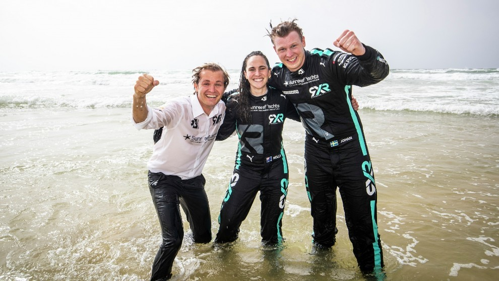 Extreme E - Jurassic X-Prix - Rosberg - Molly Taylor - Johan Kristoffersson