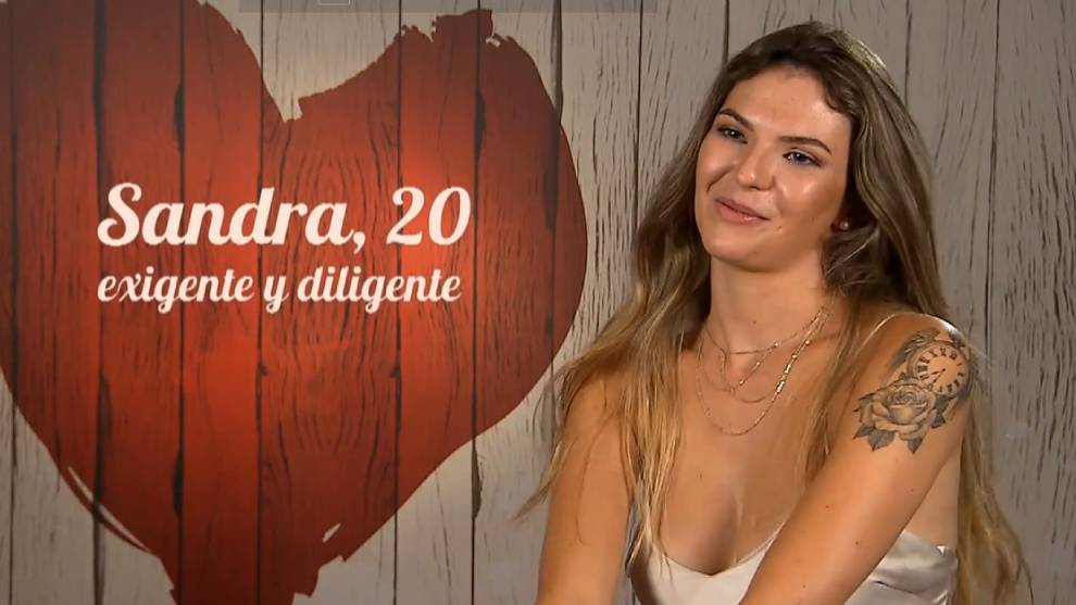Sandra, en First Dates /