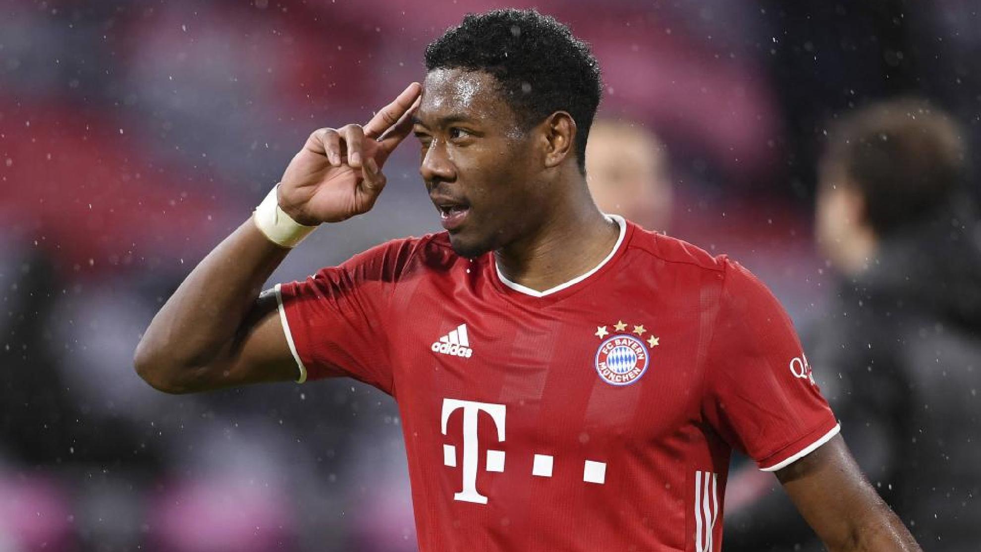 Alaba, en su etapa con el Bayern.