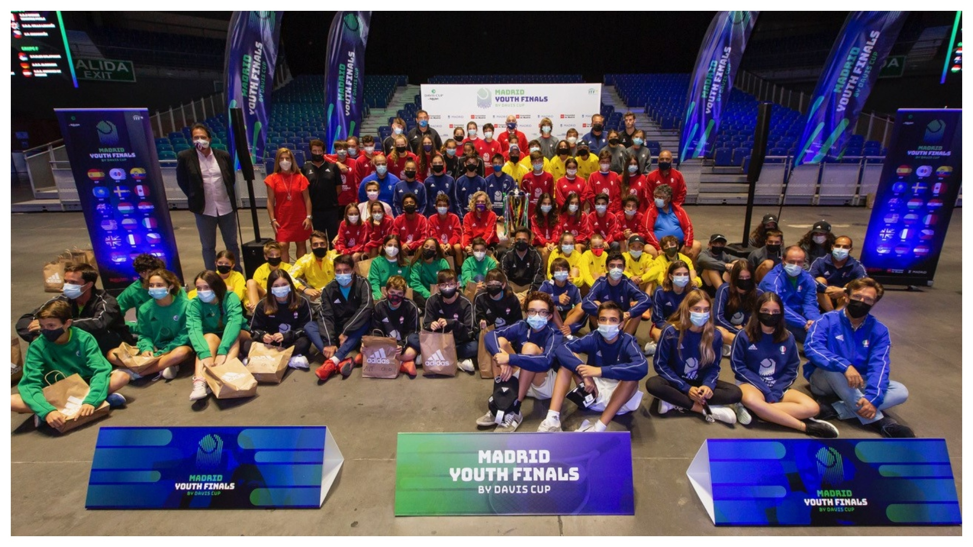 La Comunidad de Madrid y las Davis Cup by Rakuten Finals presentan las...
