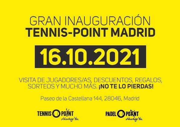 La tienda en Madrid de TENNIS POINT acoge el lanzamiento de los Master...