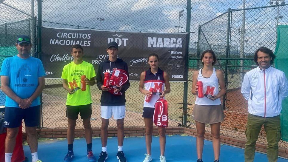Puvill y Gabdullin ganan el Sub16 RPT - MARCA en la Emilio Sánchez Academy