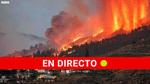 """El """"imponente aspecto de la erupción"""" del volcán de La Palma"""