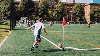 El equipo de fútbol que integra distintas culturas