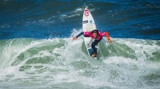 Ariane Ochoa, a escasos metros de la ola más esperada