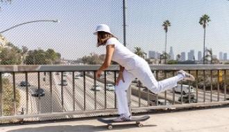 Entrena en casa con la skater Andrea Benítez